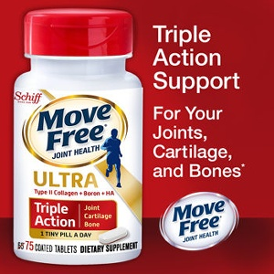 Schiff Move Free Ultra Triple Action維骨力 75顆( 含UC-II膠原蛋白+HA透明質酸) 特價:$1060
