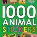 [原裝進口]1000 ANIMAL STICKERS ↘下殺4折